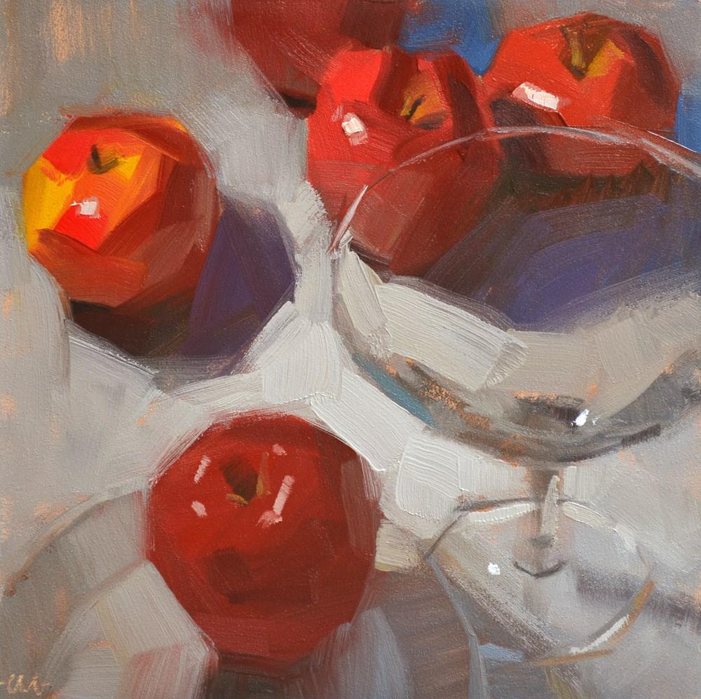 """Martini with Lunch?"" original fine art by Carol Marine"