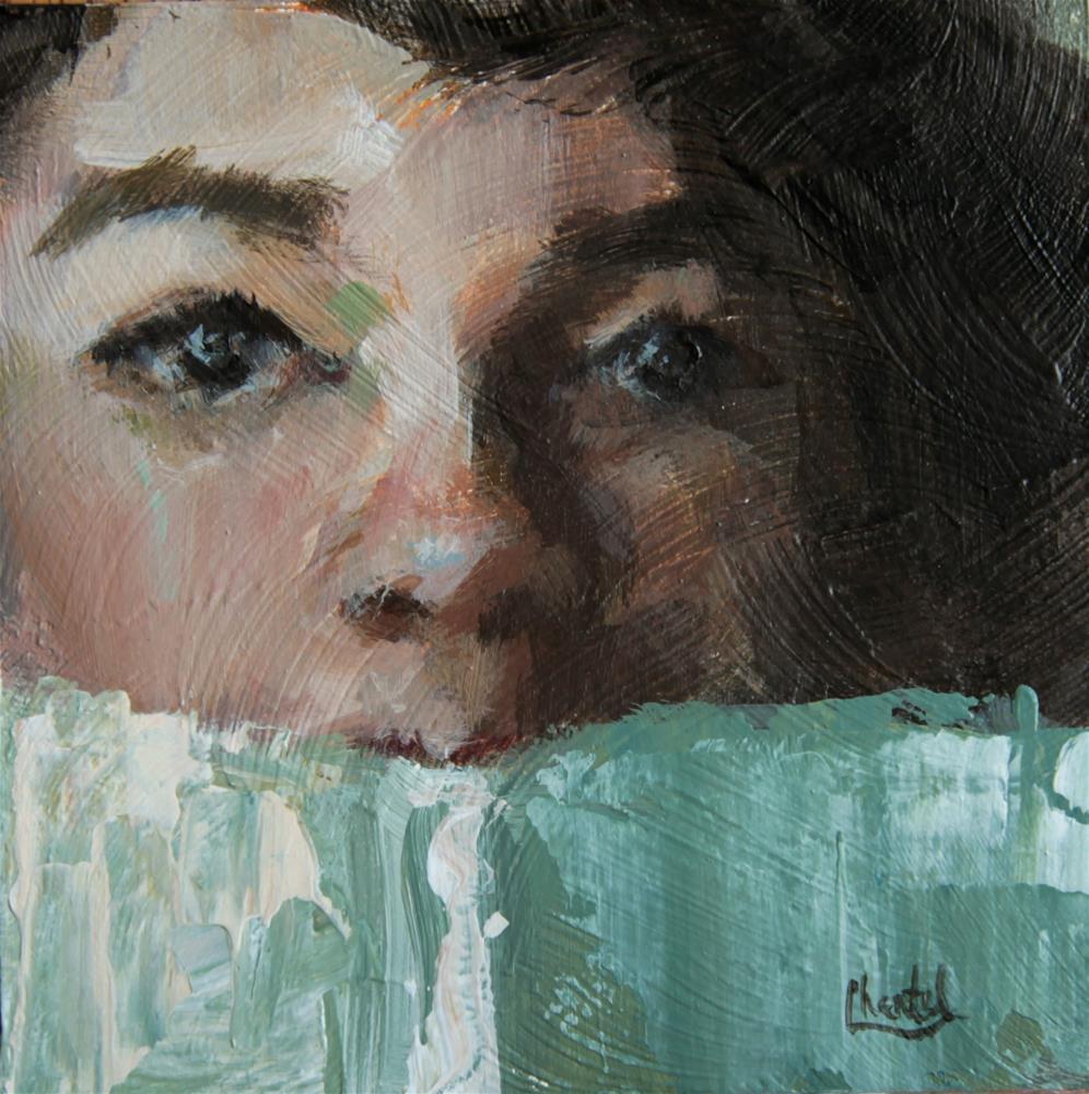 """Read"" original fine art by Chantel Barber"