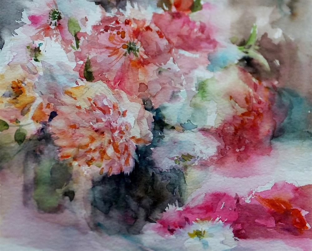 """August"" original fine art by Midori Yoshino"