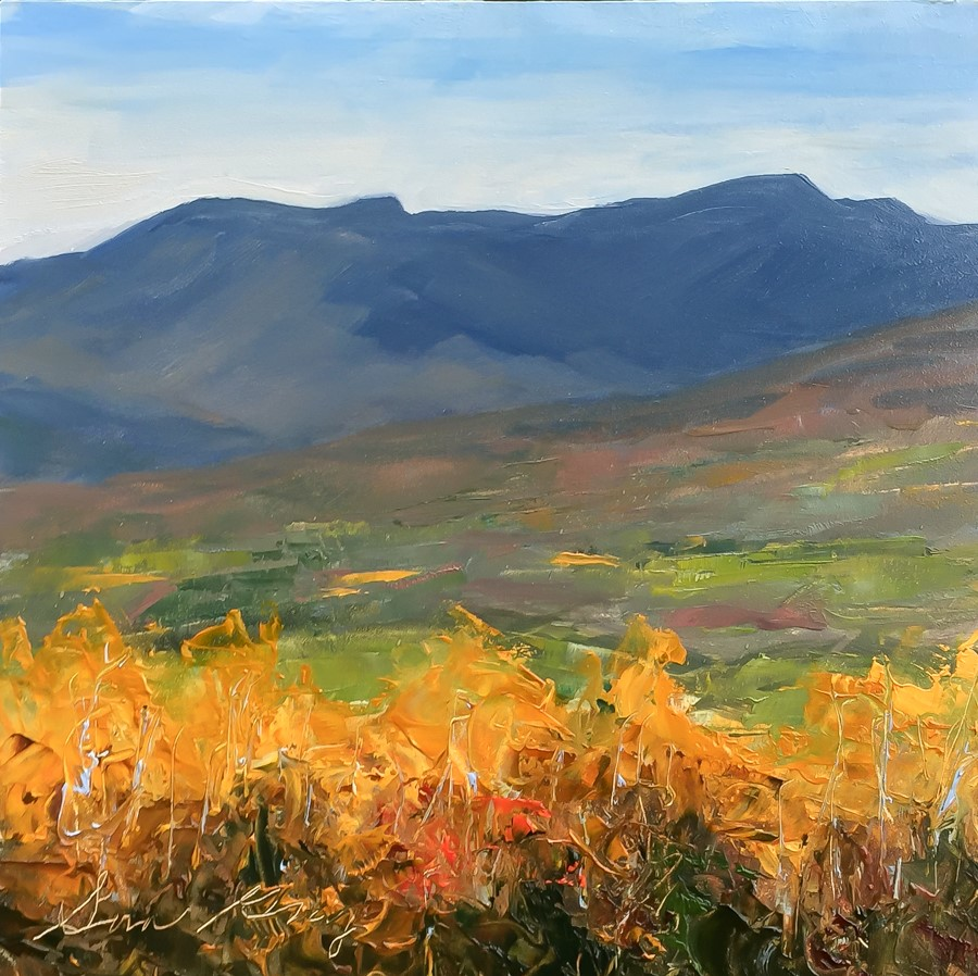 """#165 - The Grand Finale - Mt Mansfield -Stowe, VT"" original fine art by Sara Gray"