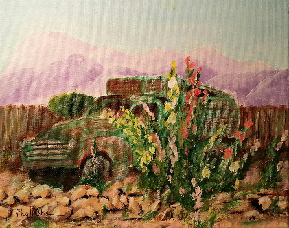 """Old Truck"" original fine art by Phyllisha Hamrick"