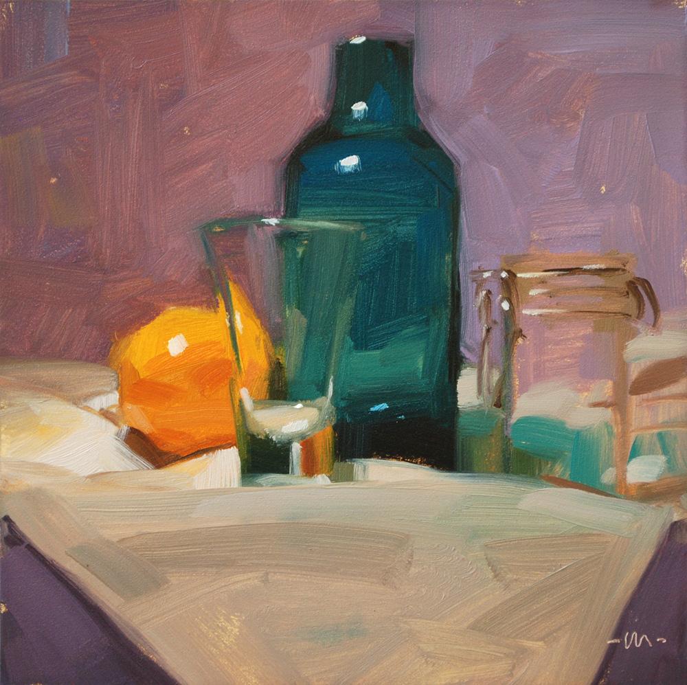 """Considering Everything"" original fine art by Carol Marine"