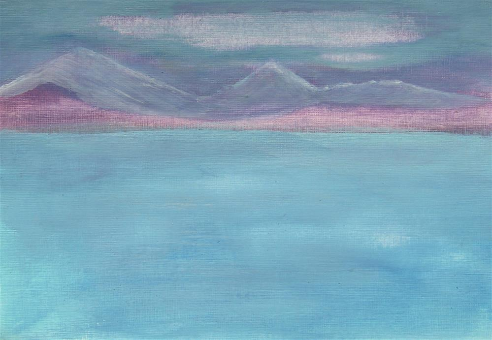 """Quiet Winter Day"" original fine art by Alina Frent"