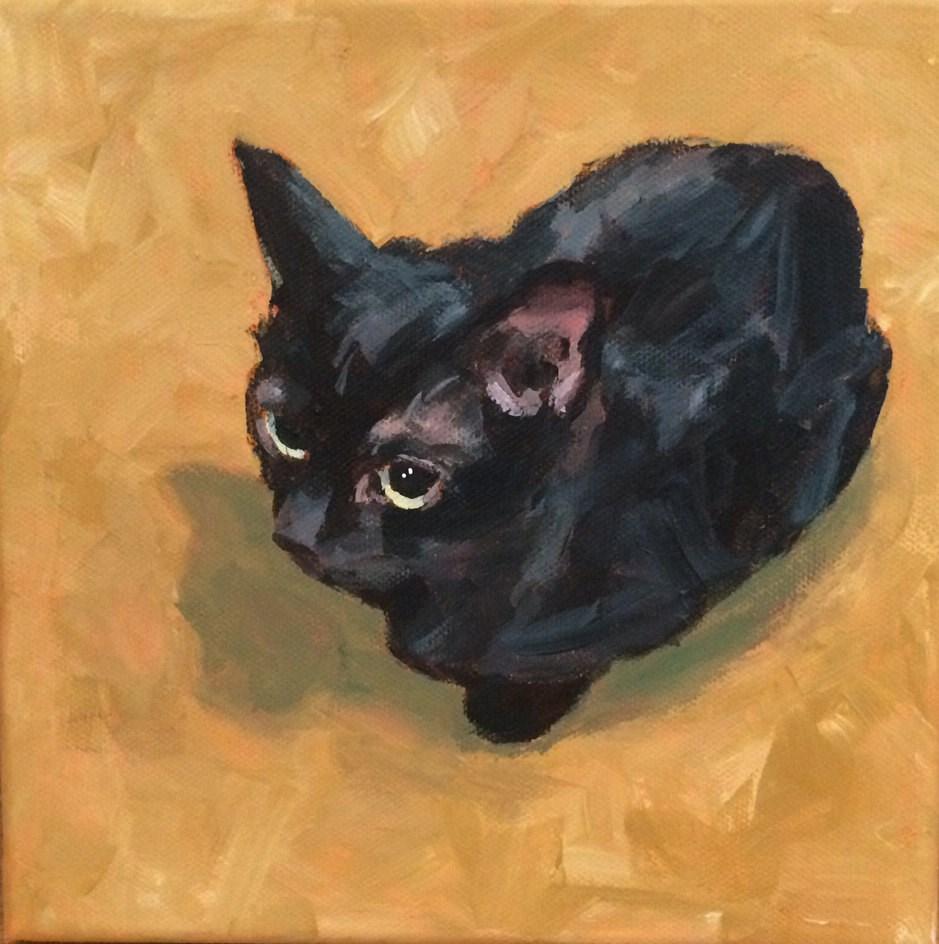 """Olive No. 8"" original fine art by Shannon Bauer"