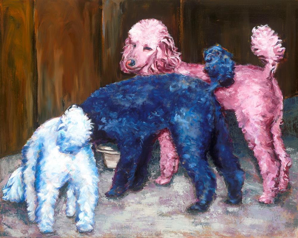 """""""Sky, Blu, Cabernet"""" original fine art by Karen Gehse"""