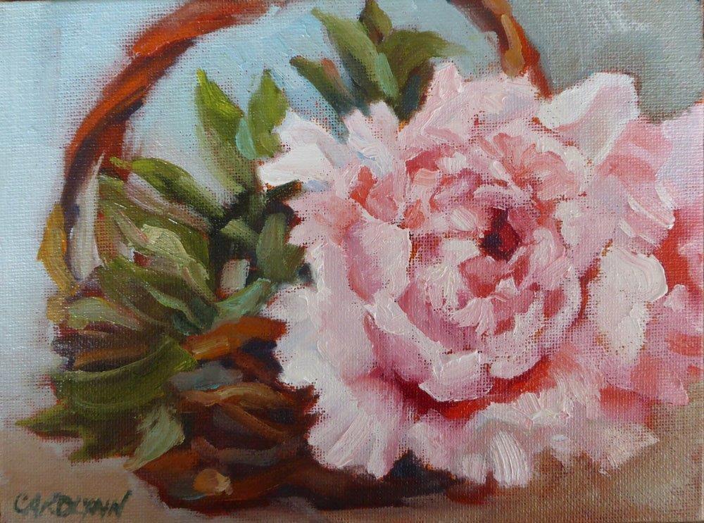 """""""Special Gift"""" original fine art by Carolynn Doan"""