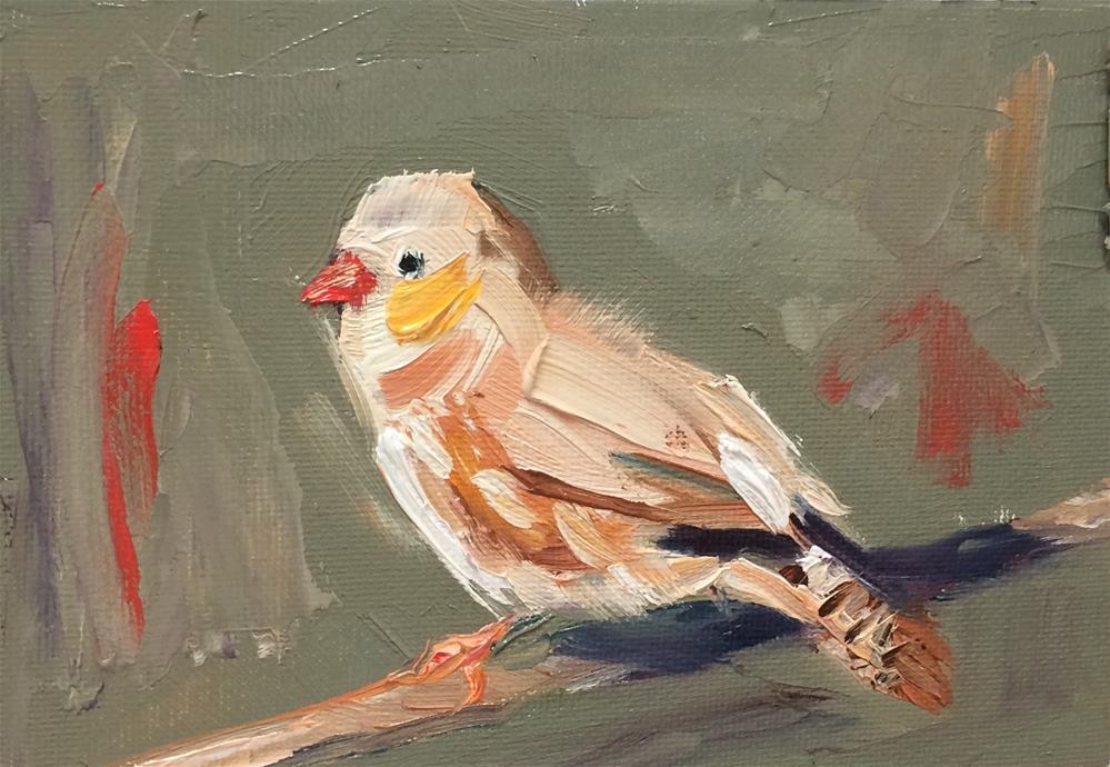 """Bird-5-"" original fine art by Naomi Bautista"