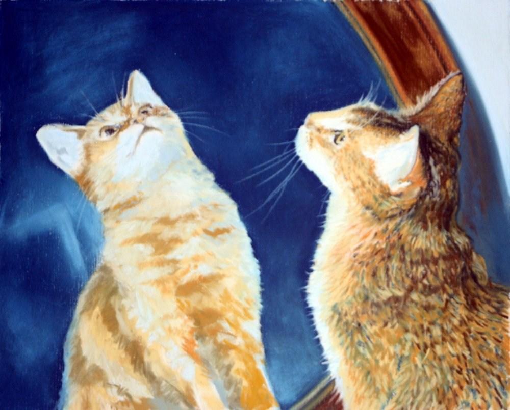 """A Moment of Reflection"" original fine art by Jill Bates"