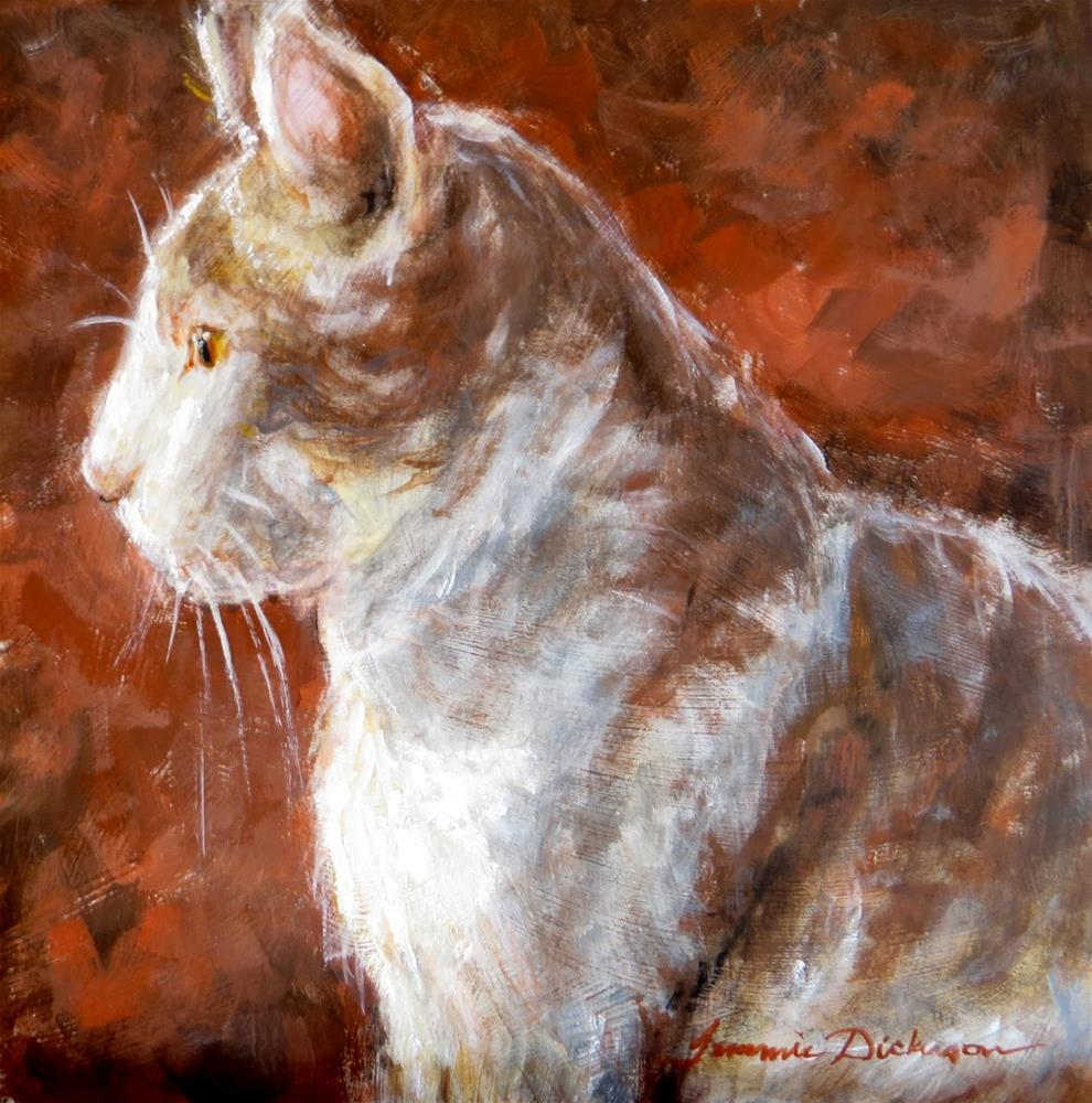 """""""At Attention"""" original fine art by Tammie Dickerson"""
