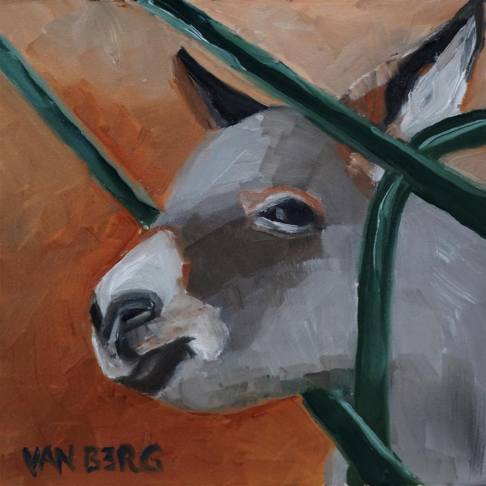 """Burrito"" original fine art by Catherine Van Berg"