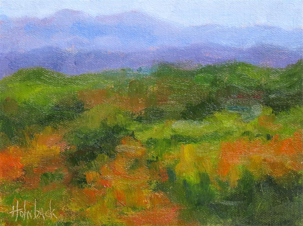 """Fall Colors"" original fine art by Pam Holnback"