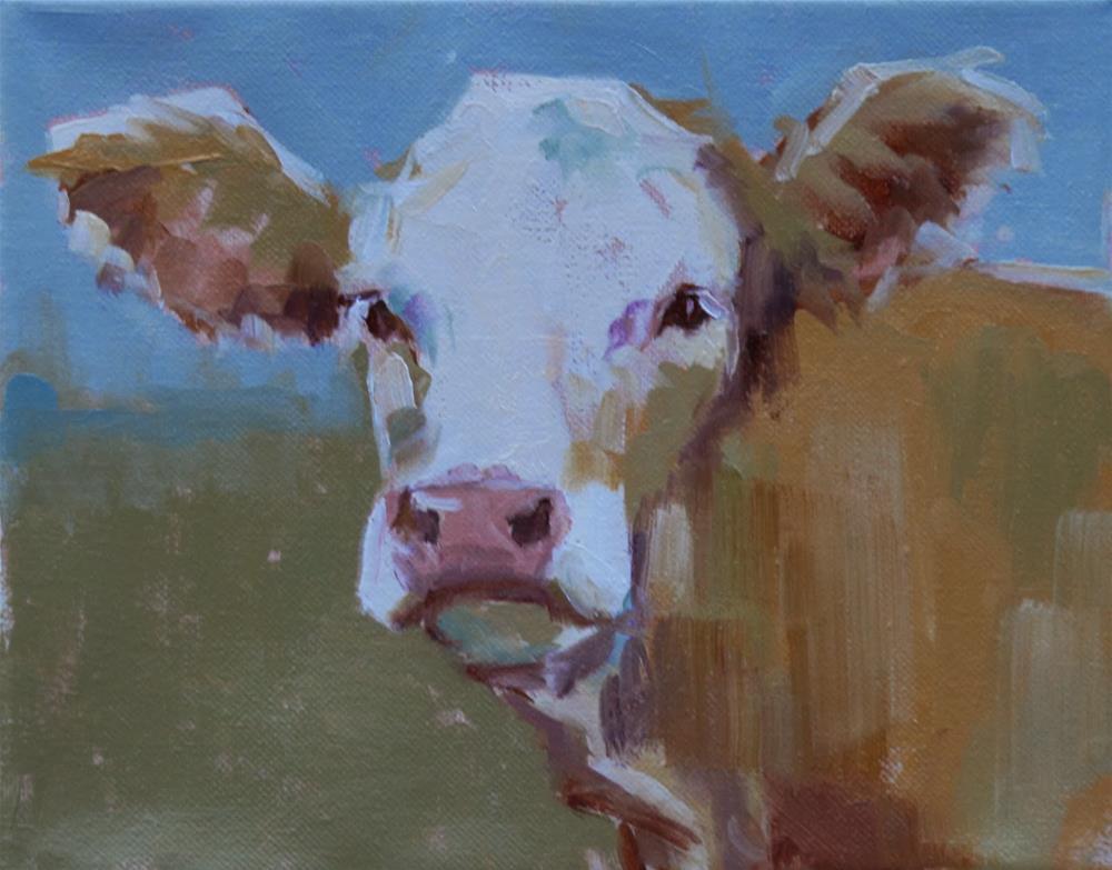 """""""amy"""" original fine art by Carol Carmichael"""