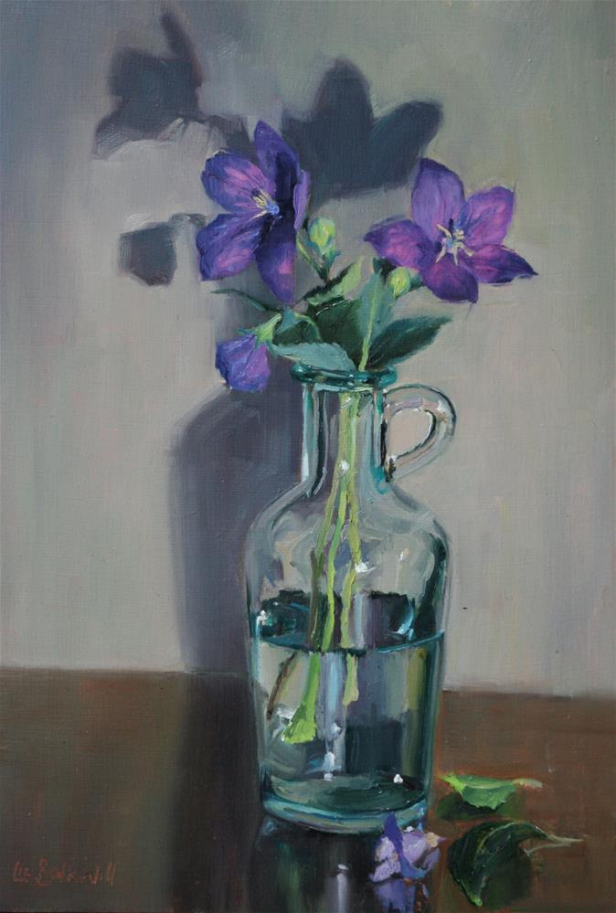 """Bell Flowers"" original fine art by Liz Balkwill"