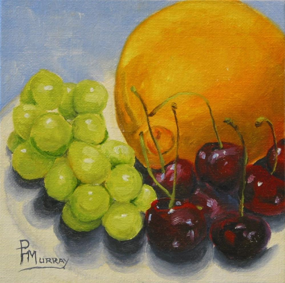 """""""Fruit Phase"""" original fine art by Patricia Murray"""