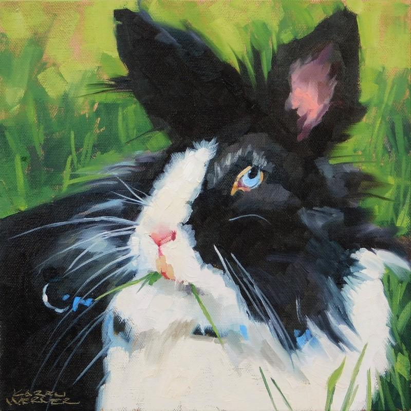 """""""Munch"""" original fine art by Karen Werner"""