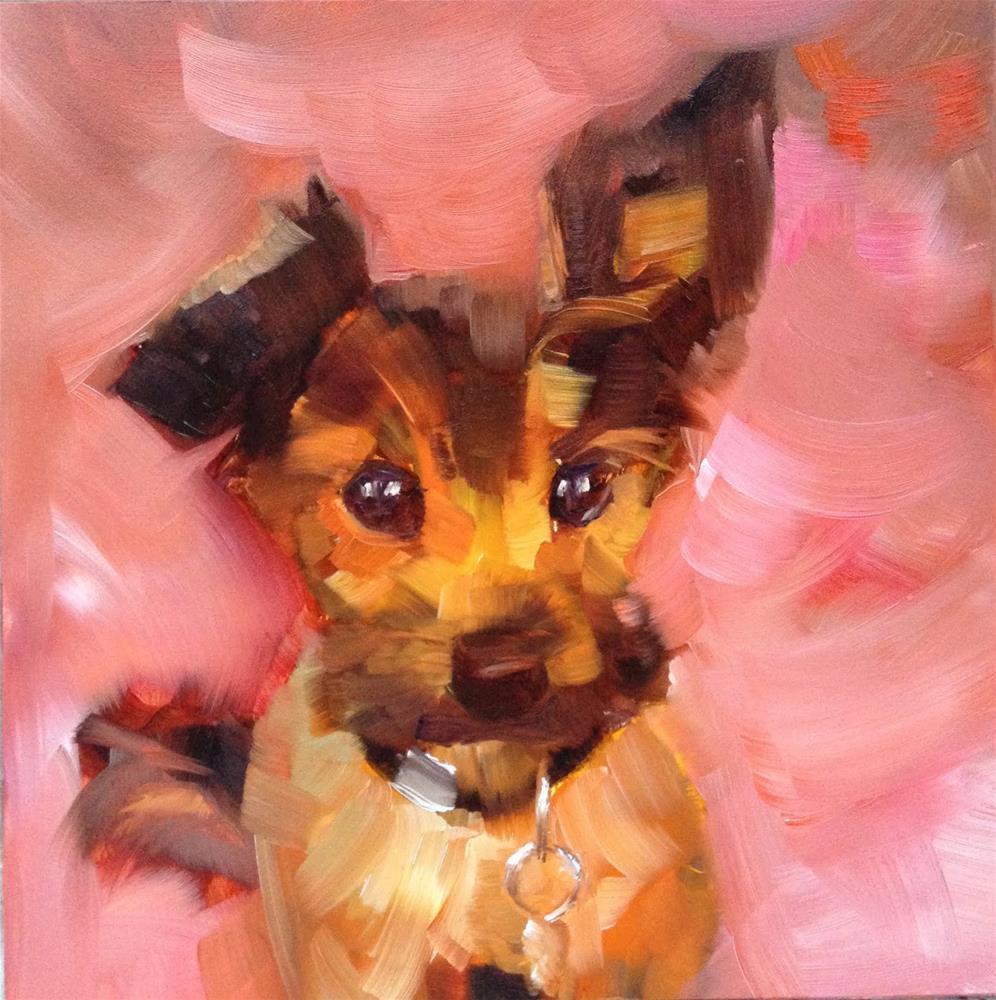 """Charlie"" original fine art by Anne Ducrot"