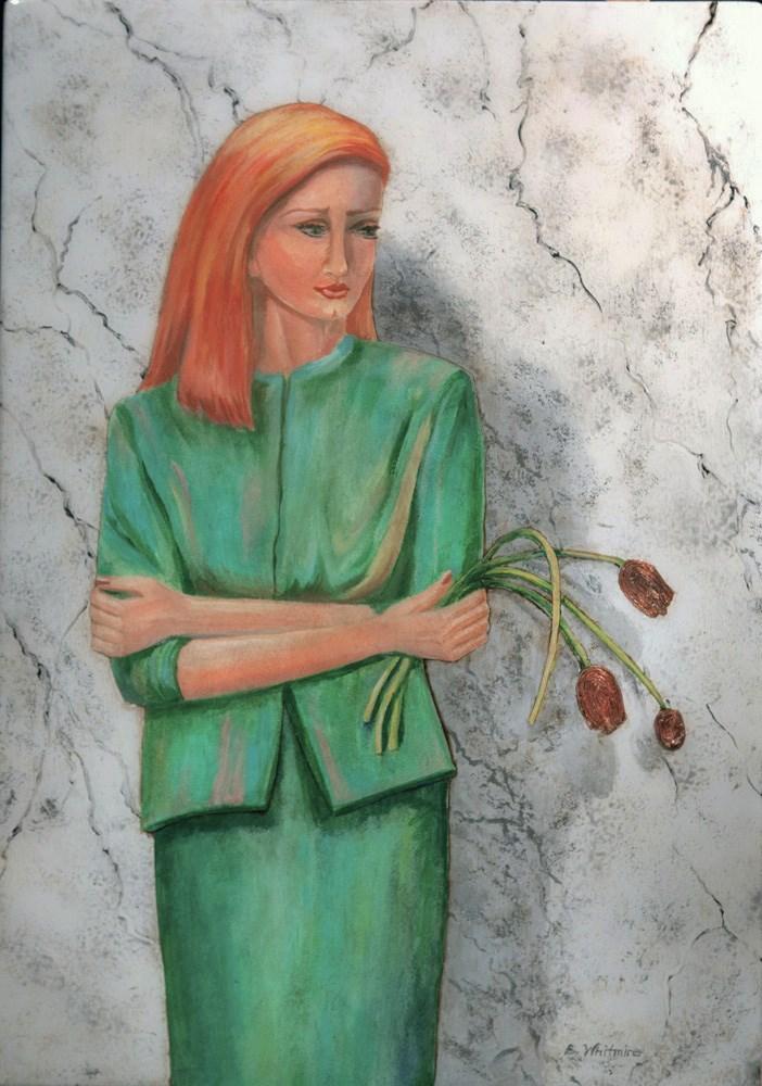 """""""Decisions"""" original fine art by Barbara Whitmire"""