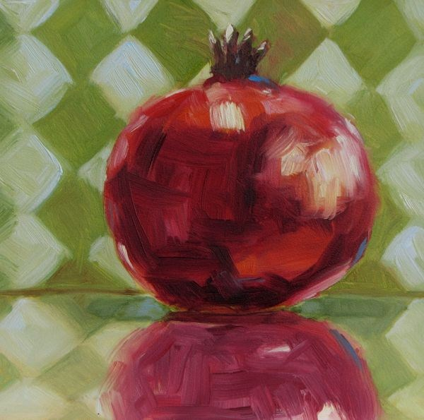 """Flamboyant Pom"" original fine art by Mb Warner"