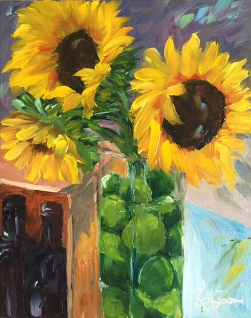 """A Few of My Favorite Things"" original fine art by Renee Robison"