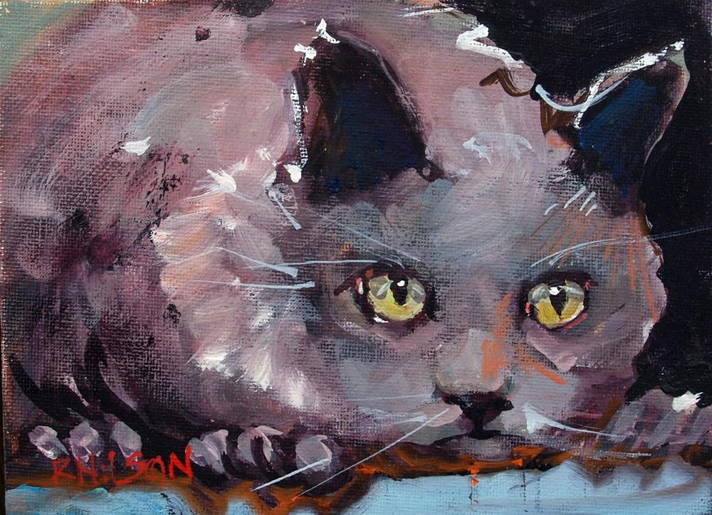 """Steel Away"" original fine art by Rick Nilson"