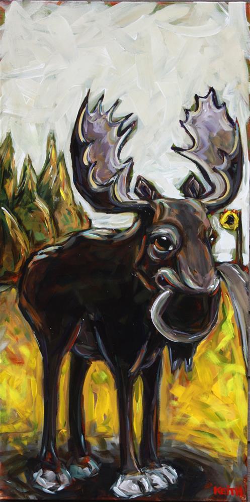 """Bruce"" original fine art by Kandice Keith"