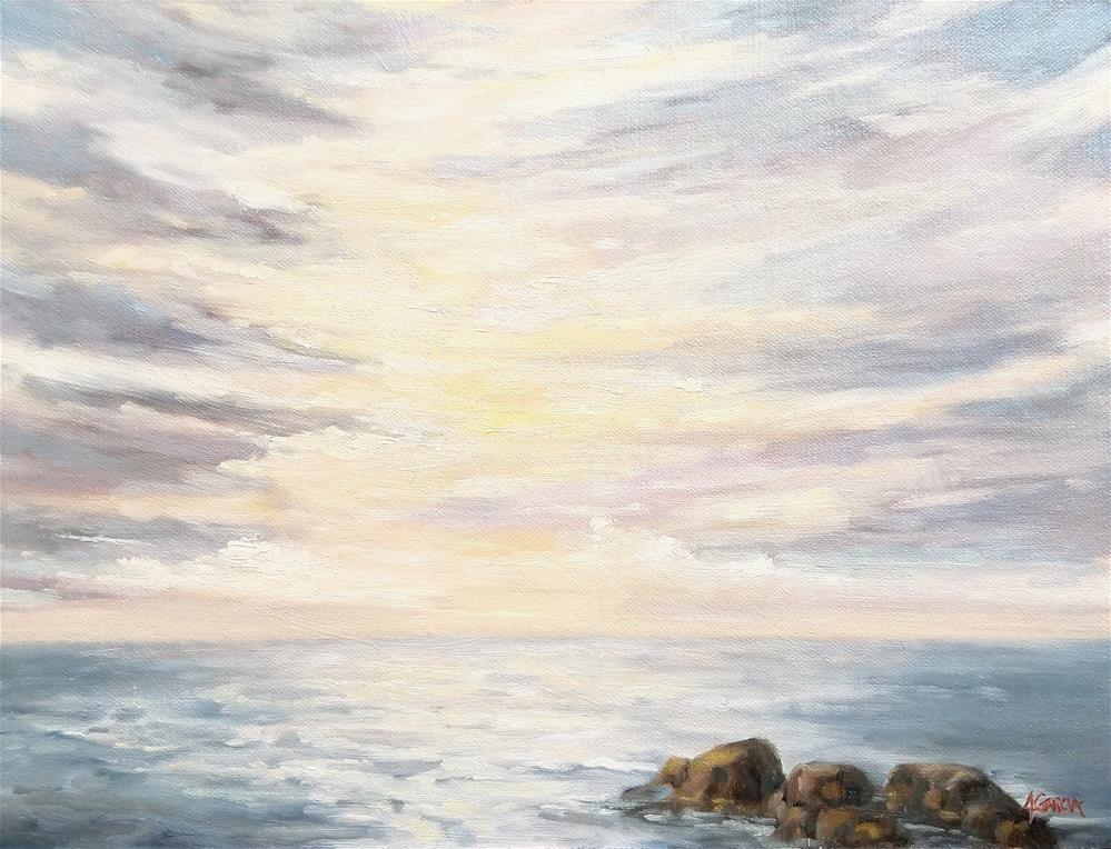 """Cloud Colour"" original fine art by Jeannie Garcia"