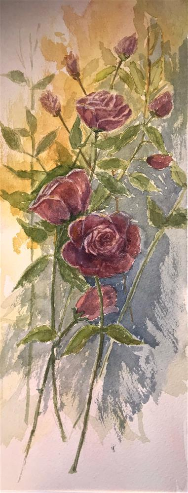 """cut roses"" original fine art by Betty Argiros"