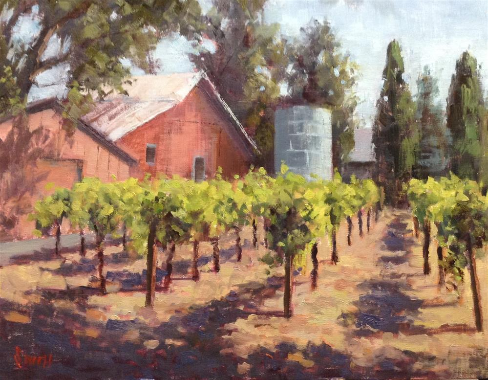 """Summer Vines"" original fine art by Barbie Smith"