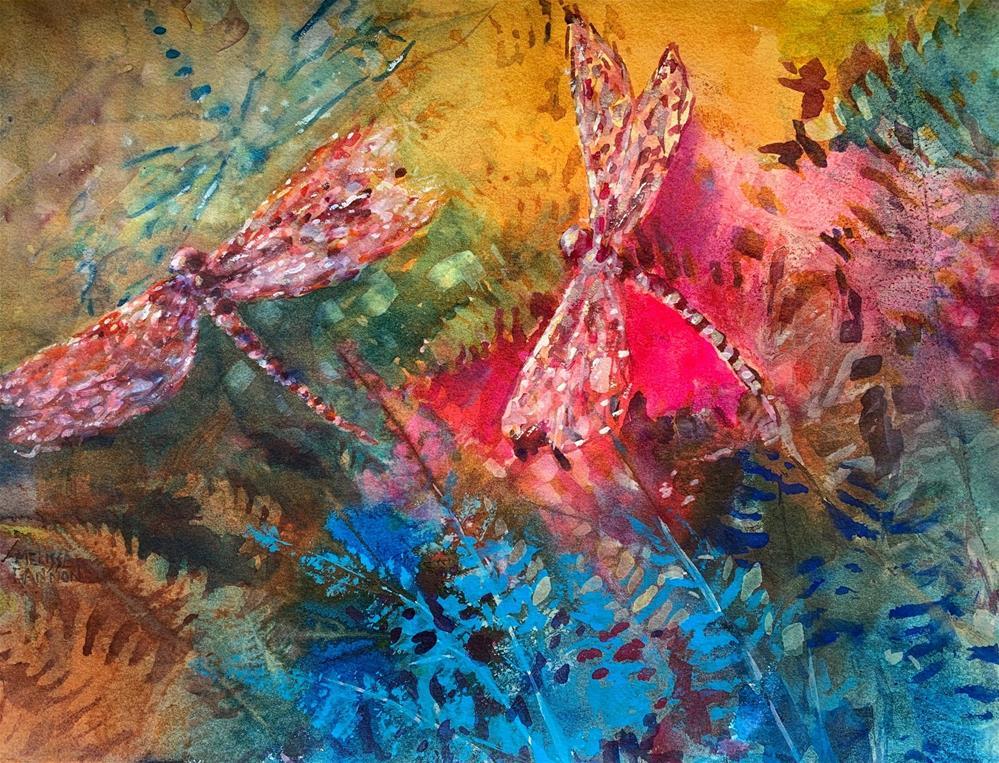 """Sunshine Fun"" original fine art by Melissa Gannon"