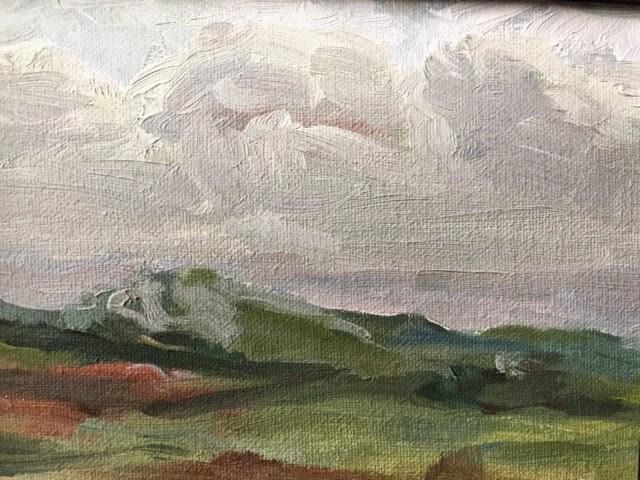 """""""Croagh Patrick"""" original fine art by Libby Gilpatric"""
