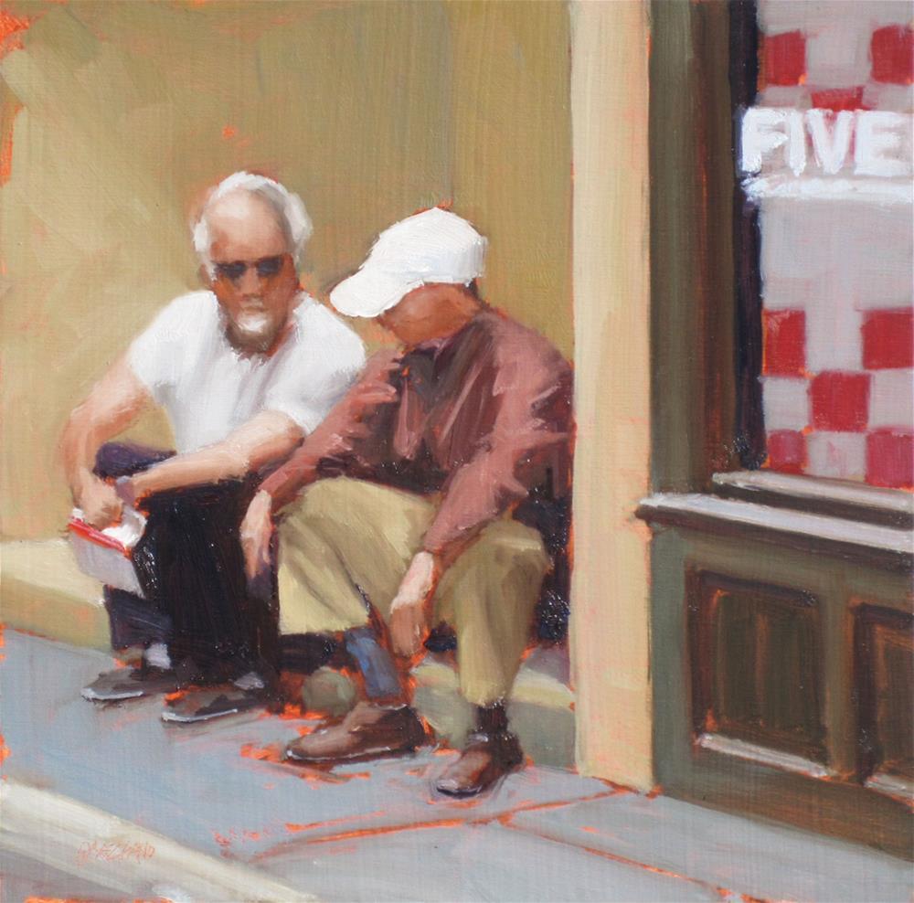 """""""take five"""" original fine art by Dan Graziano"""
