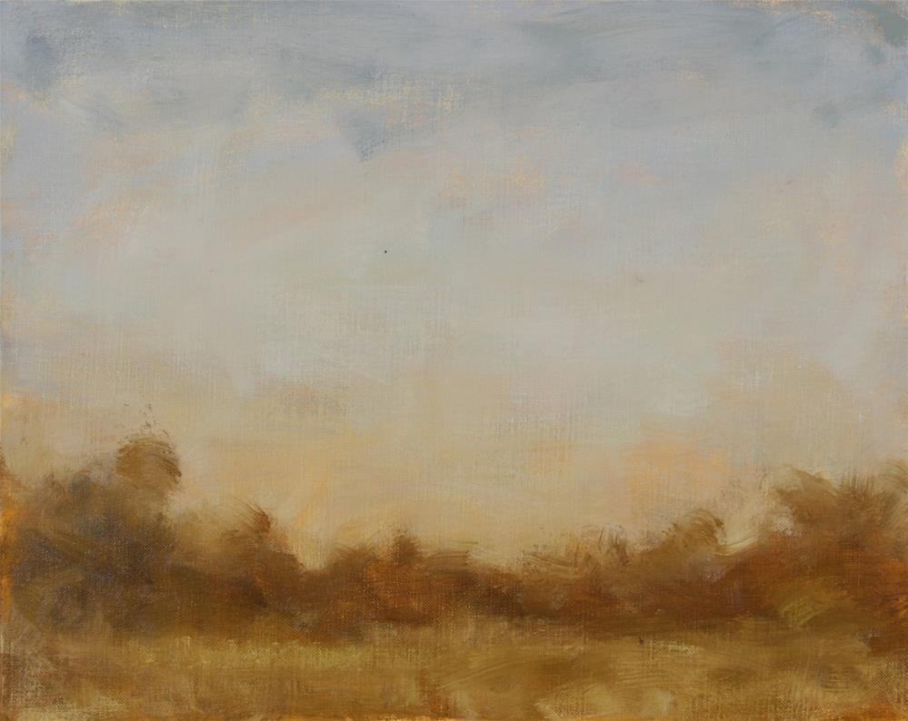 """Dusk San Antonio"" original fine art by Scott Serafica"