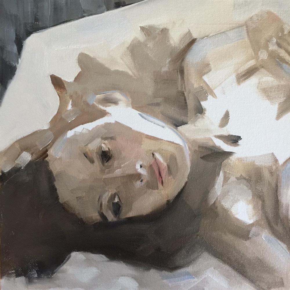 """320 Lonestar"" original fine art by Jenny Doh"