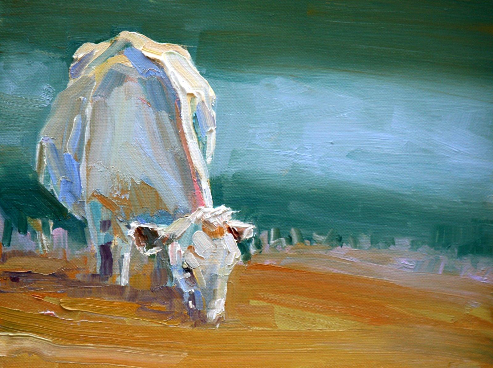 """low clouds"" original fine art by Carol Carmichael"