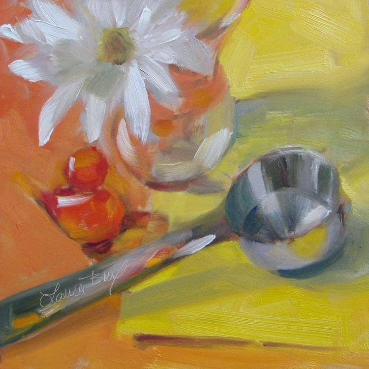 """Studio Friends - 320"" original fine art by Laura  Buxo"