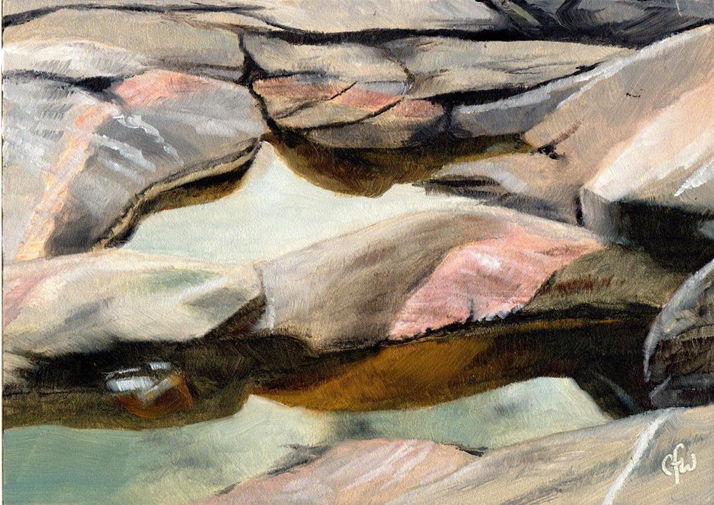 """Tide Pool"" original fine art by Gary Westlake"
