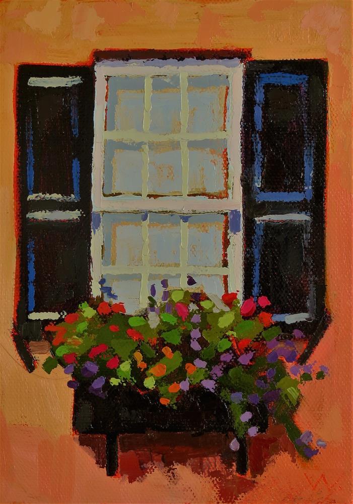 """Someday Italy"" original fine art by Joan Wiberg"