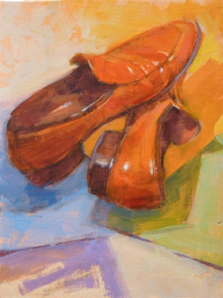 """""""Can't Dance"""" original fine art by Ron Ferkol"""