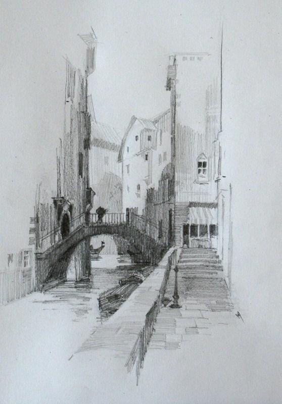 """Ernest Watson Study 1"" original fine art by Qiang Huang"
