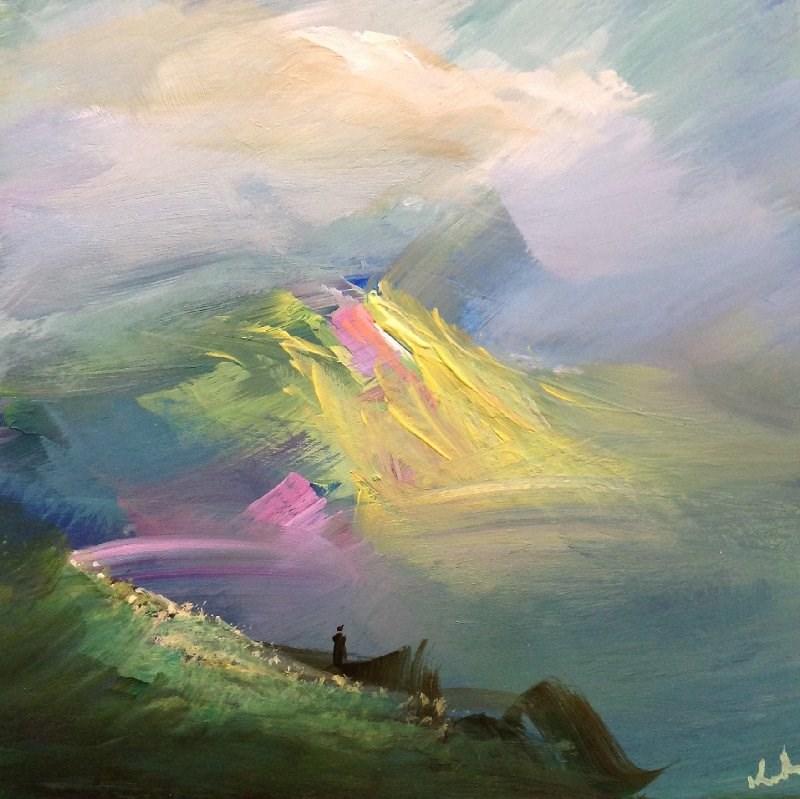 """On the Eighth"" original fine art by David Kuhn"