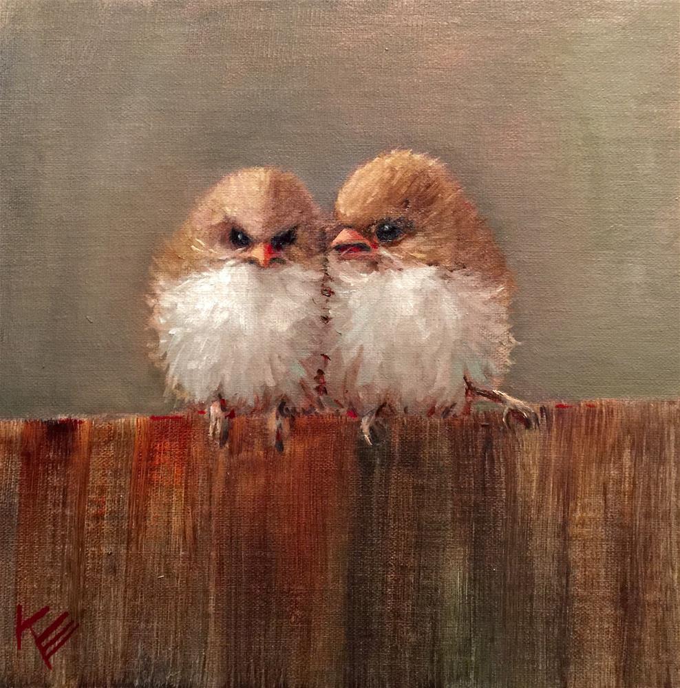 """Sparks"" original fine art by Krista Eaton"