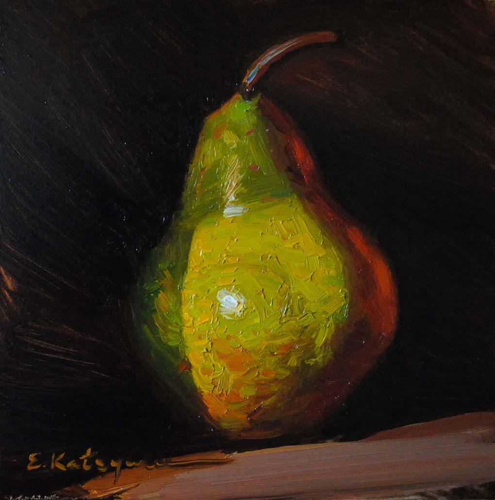 """Coming out of the Shadow"" original fine art by Elena Katsyura"