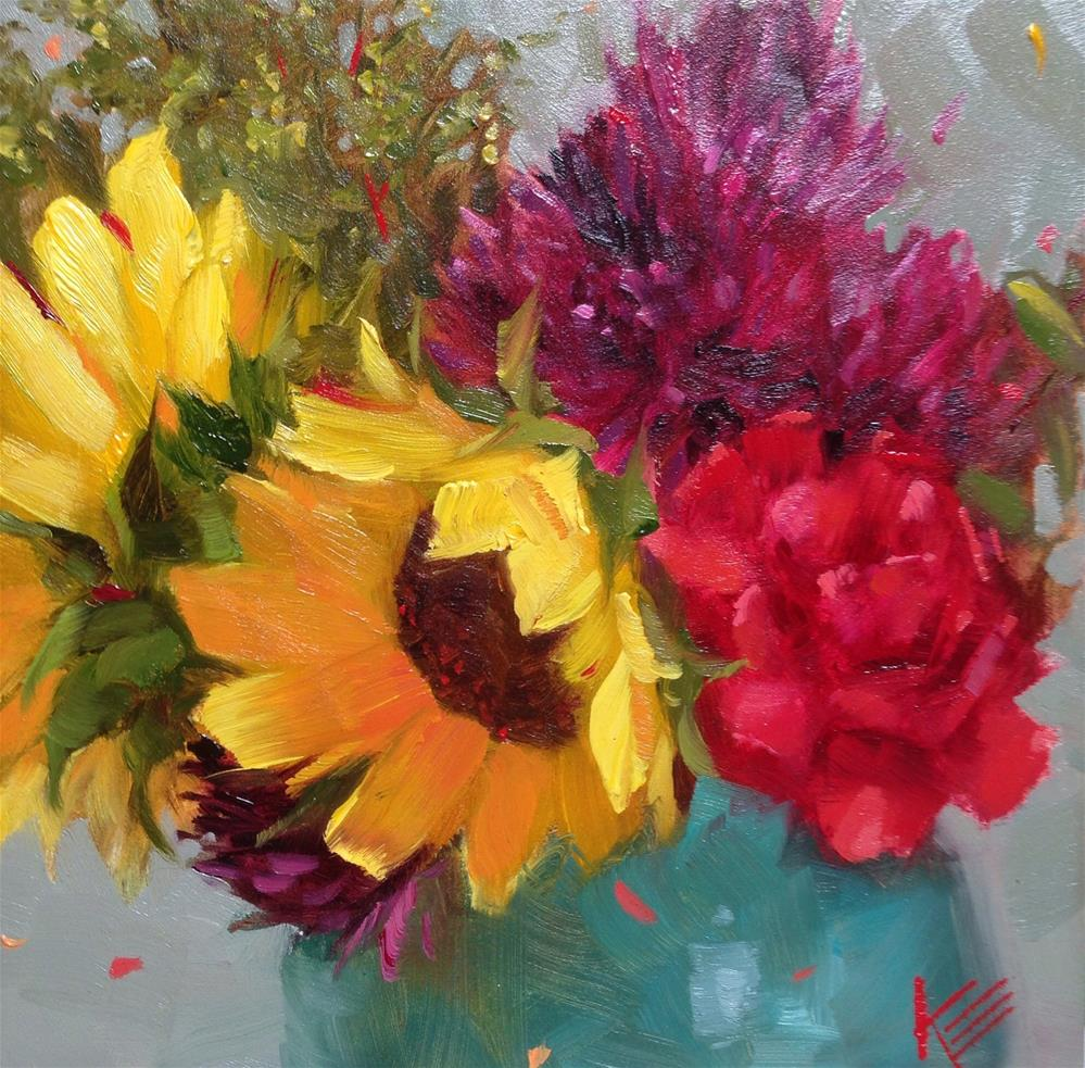 """""""Summertime Thoughts"""" original fine art by Krista Eaton"""