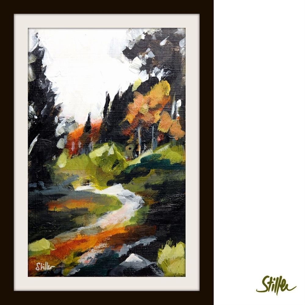 """3361 Woodland Miniature VI"" original fine art by Dietmar Stiller"