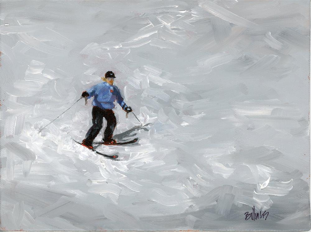 """First Run"" original fine art by Susanne Billings"