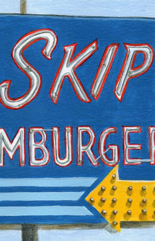 """Skip's"" original fine art by Debbie Shirley"