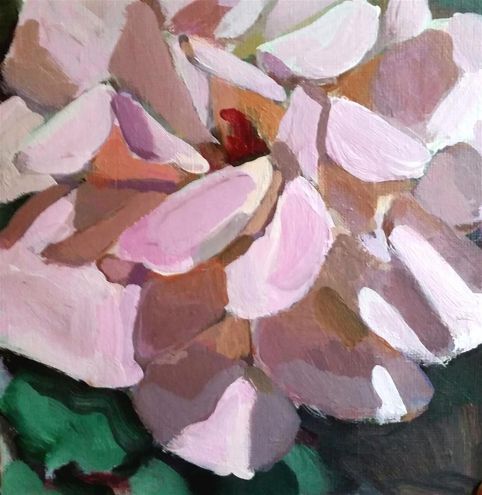 """Rose Challenge"" original fine art by Liz Maynes"