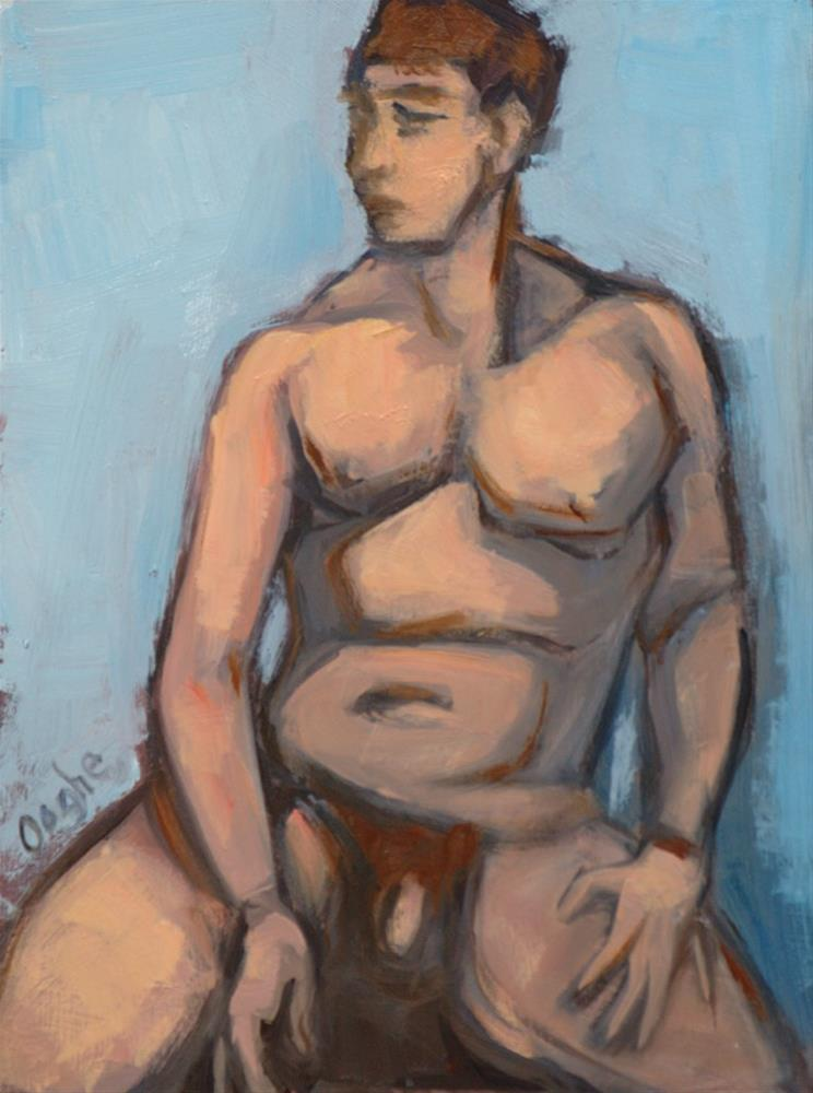 """""""Nude Shapes 2"""" original fine art by Angela Ooghe"""