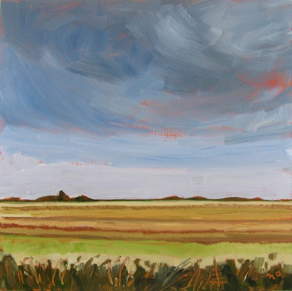"""Prairie Parallels"" original fine art by Nicki Ault"