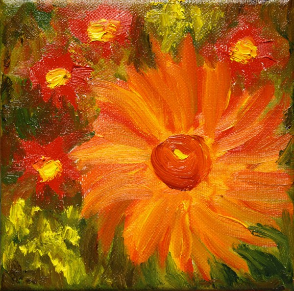 """Paint Gone Wild"" original fine art by Jane Frederick"